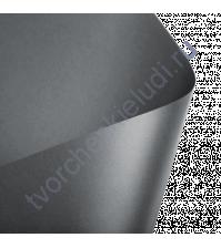 Лист гладкой дизайнерской бумаги с эффектом металлик Cocktail 290 гр, формат 30х30, цвет темное серебро
