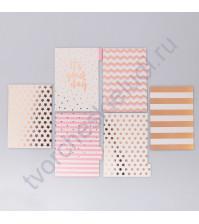 Набор картонных разделителей для планнера Розовые облака, размер 16х25 см, 6 шт