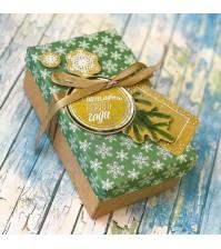 Набор для декорирования коробочки Новогоднее настроение, 14х8.5х5 см
