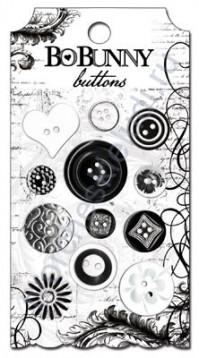 Набор декоративных пуговиы коллекция Enchanted, 12 штук
