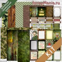Scrapmania KIT - Дембельский альбом