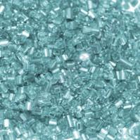 Рубка с круглым посеребренным отверстием, 10 гр, цвет 23В-голубой