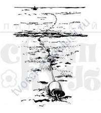 ФП печать (штамп) Морская цепь, 6х8.1см