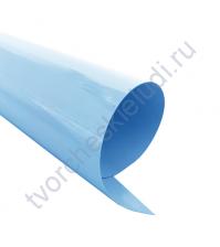 Термотрансферная пленка, цвет небесно-голубой, матовый,25х25см, SC101027