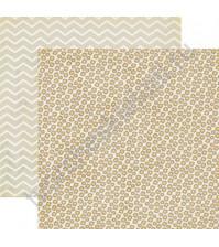 Бумага для скрапбукинга двусторонняя коллекция Bright, 30.5х30.5 см, 190 гр/м, лист Meadow