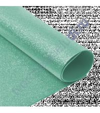 Фоамиран с глиттером, 2 мм, формат А4, цвет мятный блеск