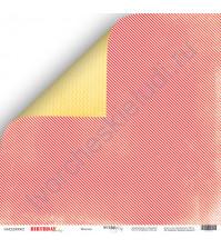 Бумага для скрапбукинга двусторонняя 30.5х30.5 см, 190 гр/м, коллекция Birthday Party, лист Веселье