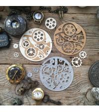 Набор ножей для вырубки Анатомия времени, 3 элемента