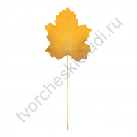 Листья розы на проволоке 3.5х2.3 см, 12 шт, цвет белый
