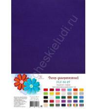 Лист фетра 21х29.7см, 1 мм, цвет темный индиго