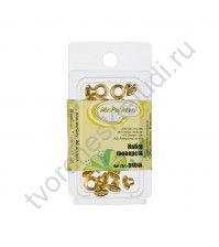 Набор люверсов 20 шт, 8х4.5х4.5 см, цвет золото