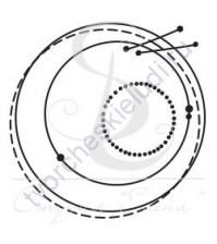ФП печать (штамп) Круг-2, 4.3х5 см