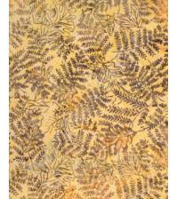 Ткань для лоскутного шитья, Папоротник, хлопок 100%, отрез 50х110 см
