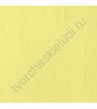 Кардсток текстурированный Канарейка (Canary), 30.5х30.5 см, 216 гр/м2