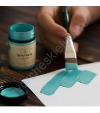 Краска акриловая Tury Design Di-7 на водной основе, флакон 60 гр, цвет Персидский зеленый