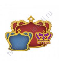 Набор ножей для вырубки Короны, 3 элемента