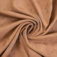 Искусственная замша Suede, плотность 230 г/м2, размер 35х50см (+/- 2см), цвет горячий шоколад