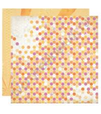 Бумага для скрапбукинга двусторонняя коллекция Radiant, 30.5х30.5 см, 220 гр/м, лист Beaming