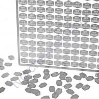 Набор металлического декора для шейкера My Hero, 5х6 мм, 110 шт