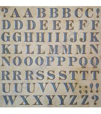 Набор стикеров Alphabet, 30.5х30.5 см