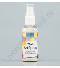Спрей-краска AcrySpray перламутр 50 мл, цвет Хамелеон желтый перламутровый FR19