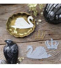 Набор ножей для вырубки Царевна-Лебедь, 2 элемента