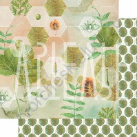 Бумага для скрапбукинга двусторонняя, коллекция PHOTOсинтез, 30х30 см плотность 190г/м, лист Гармония природы