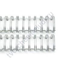 Пружинка для брошюровки Zutter, диам. 2.54 мм (1 дюйм), цвет серебро