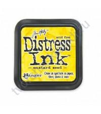 Штемпельная подушечка Tim Holtz Distress на водной основе, 5х5 см, цвет зерна горчицы (mustard seed)