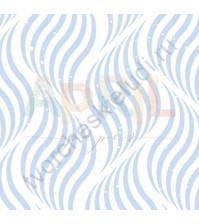 Бумага для скрапбукинга односторонняя Море волнуется РАЗ!, 30.5х30.5 см, 190 гр/м, лист Волны