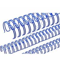 Пружинка для брошюровки, диам. 25.4 мм (1 дюйм), цвет синий