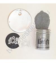 Пудра для эмбоссинга супер мелкая (detail) Slam Dunk Silver, 17 мл