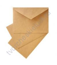 Конверт крафтовый с треугольным клапаном С5 (162х229 мм), плотность 90г/м2