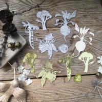 Набор ножей для вырубки Праздник урожая, 5 элементов