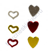 Набор конфетти фольгированного Сердечки-малышки, 25 гр