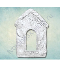 Форма силиконовая (молд) для полимерной глины, Скворечник-3