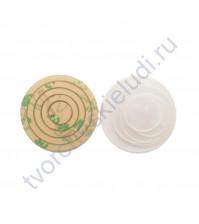 Набор шейкеров Круги мини, 4 элемента, толщ. 3 мм, цвет прозрачный