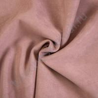 Искусственная замша Suede, плотность 230 г/м2, размер 35х50см (+/- 2см), цвет пыльный розовый