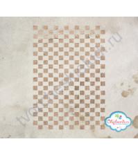 Трафарет пластиковый Шахматная доска, 12х18 см