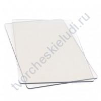 Стандартная прозрачная пластина для вырубки, 1 пара