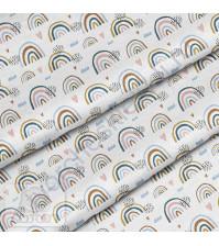 Ткань для рукоделия Радуга, 100% хлопок, плотность 150 гр/м2, размер отреза 50х80 см