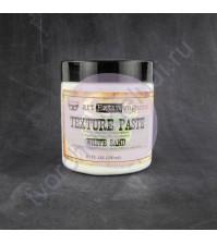 Текстурная паст с песком 250 мл, цвет белый