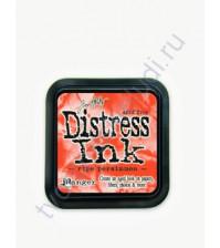 Штемпельная подушечка Tim Holtz Distress на водной основе, 5х5 см, цвет спелая хурма (ripe persimmon)