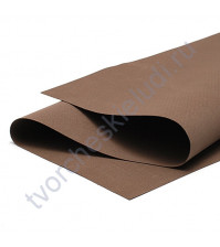 Фоамиран 1 мм, формат 25х25 см, цвет темно-коричневый