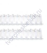 Пружинка для брошюровки, диам. 19 мм (3/4 дюйма), цвет белый