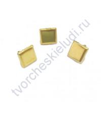 Набор брадсов Squar Gold, 9х9 мм, 49 шт