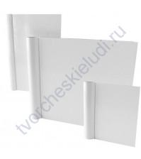 Обложка из плотного картона 15х15 см, цвет белый