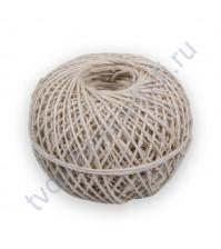 Шпагат льняной, цвет беленый, диаметр 1.5 мм, 1 метр
