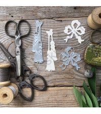 Набор ножей для вырубки Пышная эпоха, 2 элемента
