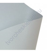 Лист дизайнерской бумаги микровельвет с эффектом металлик Comet 300 гр, формат 30х30, цвет вольфрам